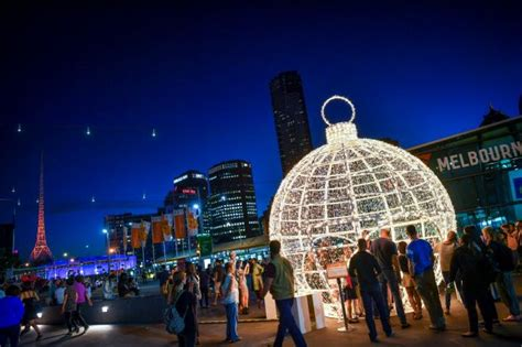 christmas lights in melbourne
