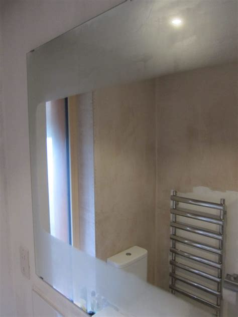 Heated Bathroom Mirrors by Heated Bathroom Mirrors Marsh Flatts Farm Self Build Diary