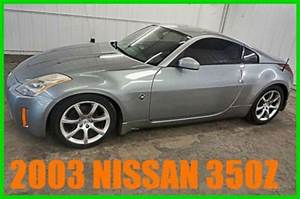 Sell Used 2003 Nissan 350z 72 Xxx Orig Sporty 3 5l V6 24v Manual Rwd Coupe 80 Photos In Plymouth