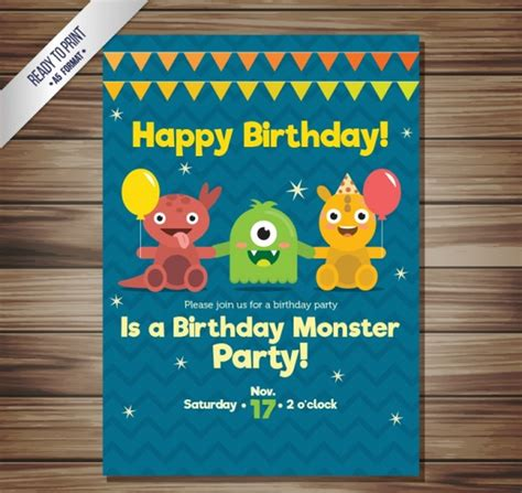 14+ Funny Birthday Invitation Designs and Examples PSD