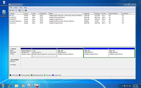 extend windows 7 system partition without reinstalling os