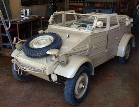 vw kubelwagen for sale pre thing 1943 volkswagen type 82 kubelwagen bring a
