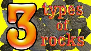 3 Types of Rock- a science song - YouTube