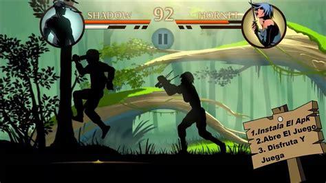 descarga shadow fight 2 apk mod todo ilimitado