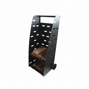 Chariot Buches Bois Roulettes : chariot e transport de bois design ~ Dailycaller-alerts.com Idées de Décoration