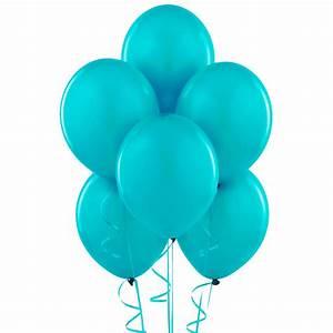 Bermuda Blue (Turquoise) Matte Balloons BirthdayExpress com