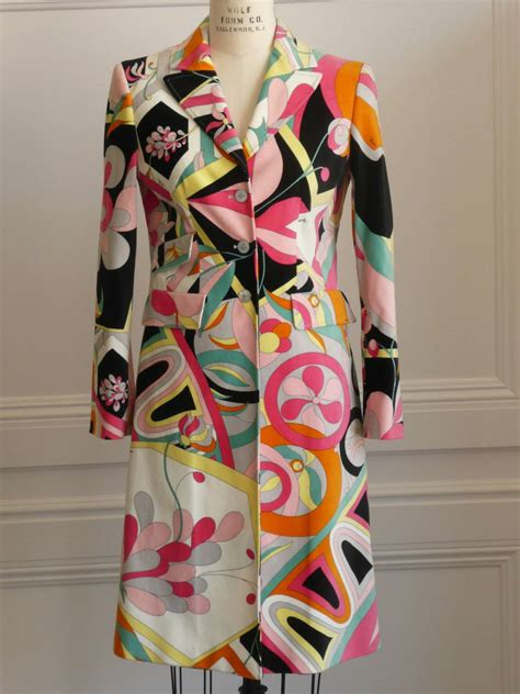 emilio pucci    vintage retro dresses coats