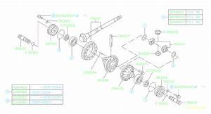 38415aa110 - Shaft-axle Drive  Differential  Transmission  Driveline