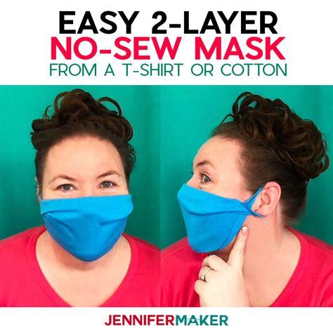 sew face mask    shirt jennifer maker