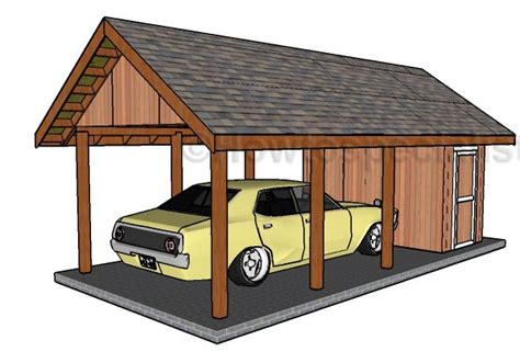 carport  storage plans howtospecialist