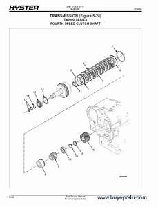 Hyster Challenger  E117  Forklift Pdf Parts Manual