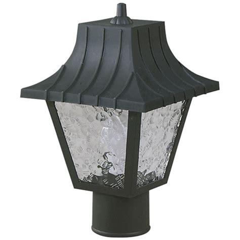 westinghouse 174 mansard style post top lantern 66875