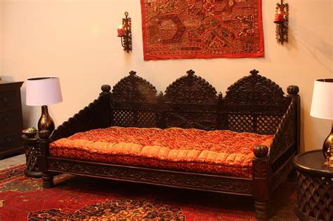 Furniture India by Sheesham Wood Carved Sofa Set 171 Traditional Living