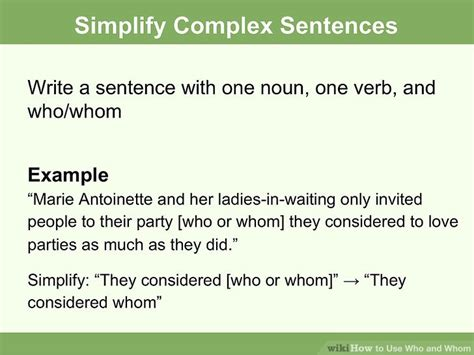 """How To Use """"who"""" And """"whom"""" Correctly (with Examples) Wikihow"""