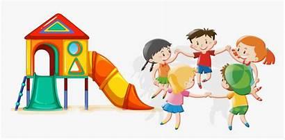 Play Cartoon Clipart Park Child Amusement Children