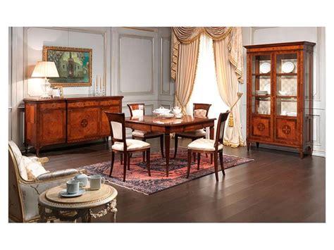 sale da pranzo classiche sedia classica in legno finitura antiquariato per sale