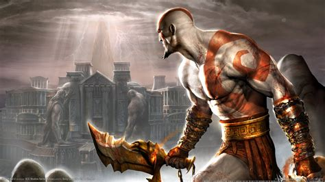 god  war  ps game wallpapers hd wallpapers id