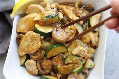 Lemon Chicken Stir Fry  The Fed Up Foodie