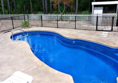 pool blue color light colored pools vs colored pools nc