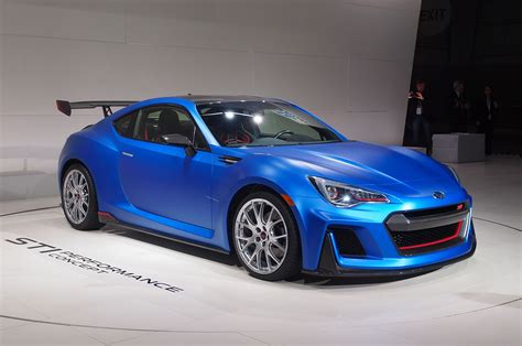 subaru brz custom subaru brz sti performance concept revealed