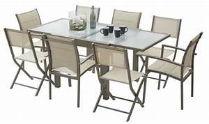 Ensemble Table Et Chaise De Jardin : ensemble table chaise exterieur l 39 univers du jardin ~ Teatrodelosmanantiales.com Idées de Décoration