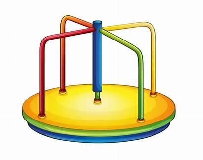 Playground Clip Clipart Equipment Cartoon Park Preschool