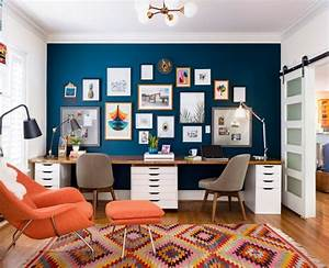 Incredible, Two, Sided, Office, Desks, For, Stylish, And, Inviting, Home, Offices, U2013, Homesfeed