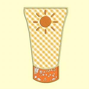 Creme Solaire Dessin : motif broderie machine appliqu tube creme solaire ~ Melissatoandfro.com Idées de Décoration