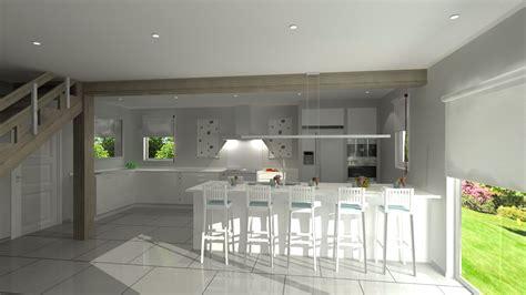 plan cuisine ilot central une cuisine quatre styles quelle sera votre préférée