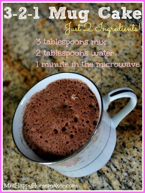 microwave mug cake  happy homemaker