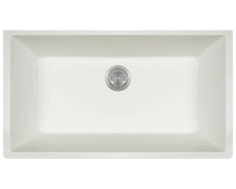 white single bowl kitchen sink 848 white large single bowl undermount trugranite kitchen sink 1868
