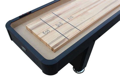 12 ft shuffleboard table berner billiards 9 or 12 foot shuffleboard table the
