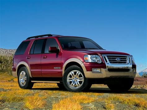 ford explorer suv pictures information  specs