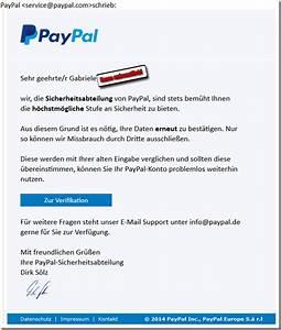 Paypal Falsche Email : sehr echt wirkendes phishing falsche paypal mail will pers nliche daten erlangen mimikama ~ Buech-reservation.com Haus und Dekorationen