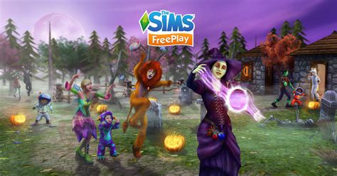Sims Freeplay Halloween Update eek halloween update for the sims freeplay is here