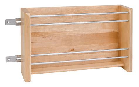 rev  shelf wfr   wall  wood vertical foil rack birchmaple  hardware hut