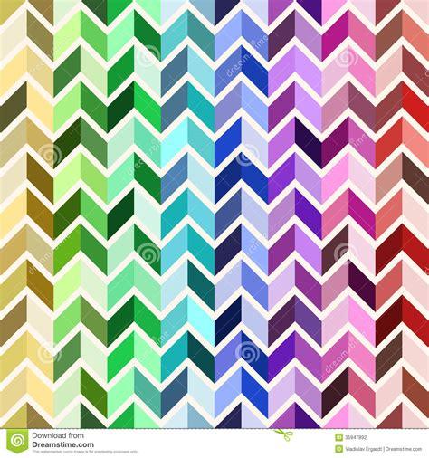 seamless geometric pattern colorful mosaic stock vector