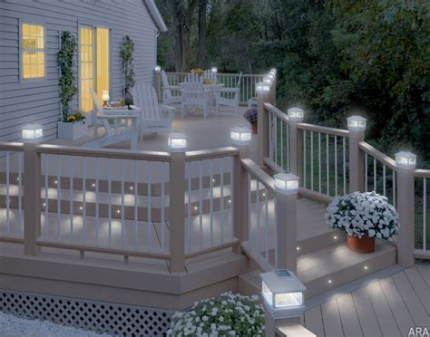 Patio Floor Lighting Ideas by Deck Lighting Ideas Solar Home Decorating Ideas And Tips