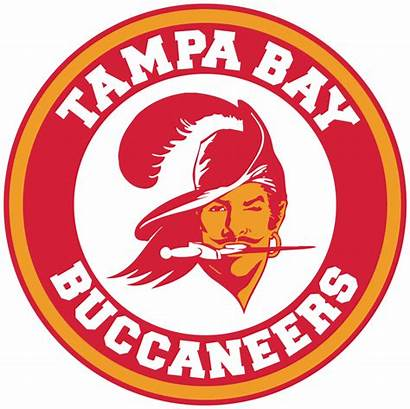 Tampa Buccaneers Bay Throwback Transparent Circle Decal
