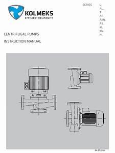 Kolmeks Manual Centrifugalpumps10en