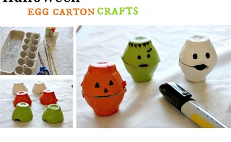Halloween Egg Carton Craft  Upper Sturt General Store