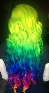 1000 ideas about Neon Hair on Pinterest