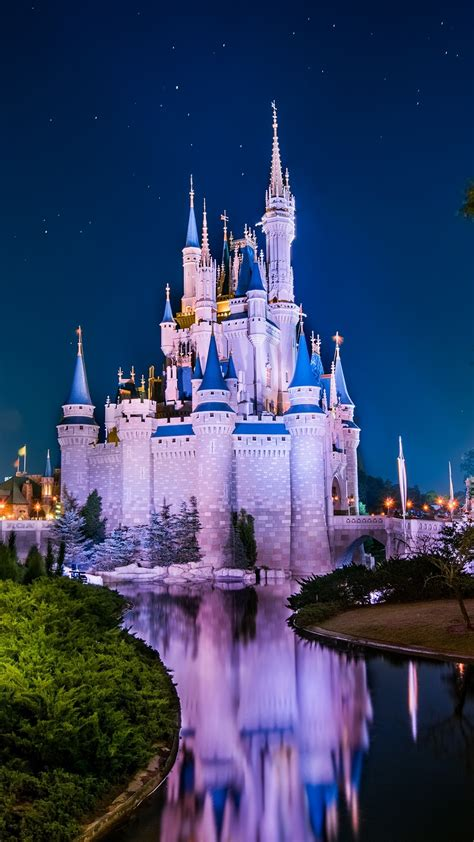 Disney World, Cinderella Castle 4K UltraHD Wallpaper ...