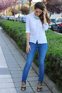 Outfits Blusa Blanca Formal