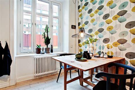appartement design deco cuisine vintage tapisserie picslovin