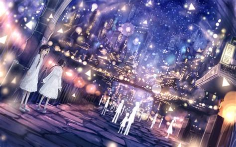 Light Anime Wallpaper - city lights other anime background wallpapers on