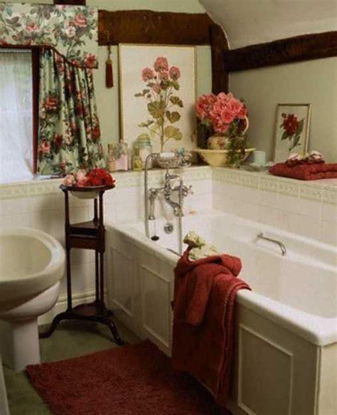 Bathroom Wall Flowers by Colorful Bathroom Decorating With Flowers Adds Luxury To