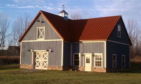 Rusted metal roof  Exterior Home Ideas Pinterest