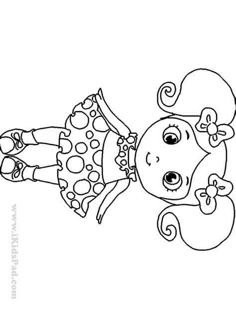 Baby Girl Coloring Pages To Print Coloring Home