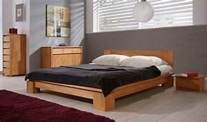 commode en bois massif vinci pour chambre coucher moderne With chambre a coucher en bois massif